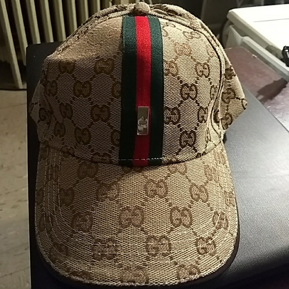Gucci Other - Unisex Gucci monogram brown cap hat strapback 8aa1a9d48223